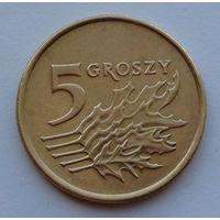 Польша 5 грошей. 1998