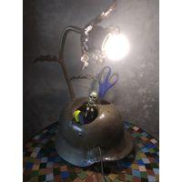 Лампа каска