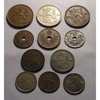 Финляндия Лот из 11 разных монет 1923-1945  (24)