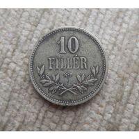 Венгрия 10 филлеров 1915 Австро Венгрия