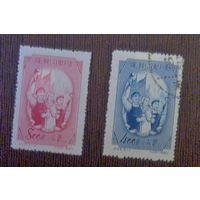 VII Всекитайский съезд профсоюзов. Китай. Дата выпуска: 1953-06-25. Полная серия