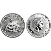 Австралия 50 центов, 2003 год. Год козы