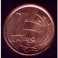 1 сентаво 2001год Бразилия