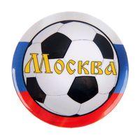 Значки из серии города ЧМ-2018   футбол Москва, Санкт- Петербург