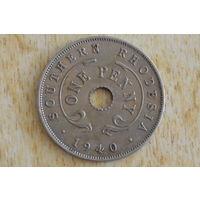 Южная Родезия 1 пенни 1940