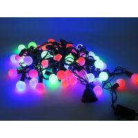 Новый Год! Светодиодная LED гирлянда ШАРИКИ, Разные Размеры! В наличии