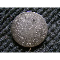 1 злотый 1818