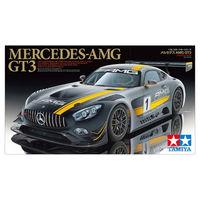 Mercedes AMG GT3, сборная модель 1/24 TAMIYA 24345