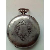 Старинные часы в ремонт, серебро 800 пробы.