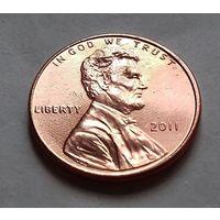 1 цент США 2011, 2011 D, AU