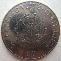 Гаити 50 сантимов 2011 г.