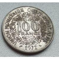 Западная Африка (BCEAO) 100 франков, 1972 8-10-10