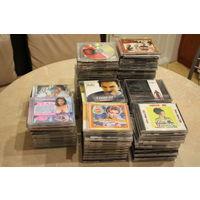 137 музыкальных дисков,продажа одним 1 лотом (цена указана за все)