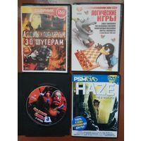 Игры компьютерные на DVD дисках цена за все