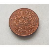 5 евроцентов 2002 Австрия