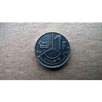 Бельгия 1 франк 1990г.'BELGIE (Б-3)