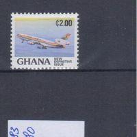 [2008] Гана 1983. Авиация.Самолет.