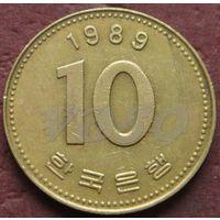 2430:  10 вон 1989 Корея