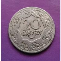 20 грошей 1923 Польша #10