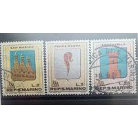 Сан Марино 1968г. 3марки
