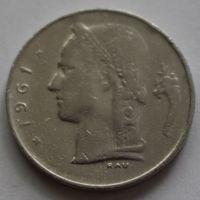 Бельгия, 1 франк 1961 г. 'BELGIQUE'