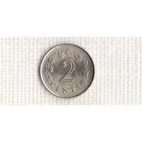 Мальта 2 цента 1977/(Uss)