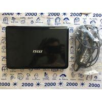 Ноутбук MSI U100 на запчасти. Торг