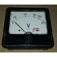 Вольтметр Э377  250 V Б/у