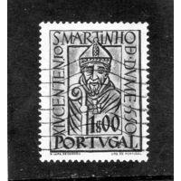 Португалия.Ми-807.Св.Мартин из Браги (c.520-580) архиепископ, миссионер.1953