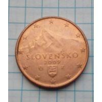 Словакия  5 центов 2009г.