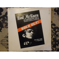 Rod McKuen - Sold Out! At Carnegie Hall, April 29, 1969 - Warner Bros., USA - 2 пл-ки