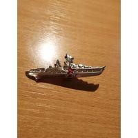 Значок. Корабль. Военные значки. Распродажа значков