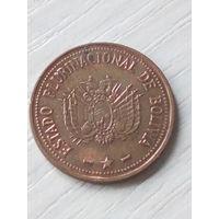 Боливия 10 центаво 2012г.