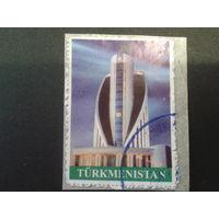 Туркменистан 2008 стандарт S, кобра - название здания Mi-3,0 евро гаш.