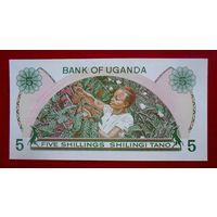 Уганда, 5 шиллингов, 1982 года, UNC