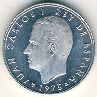 Испания 50 сентимов 1975