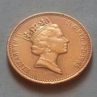 1 пенни, Великобритания 1985 г.