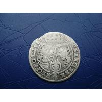 6 грошей (шостак) 1666 (3)