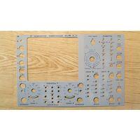 Панель лицевая для осциллографа С1-99
