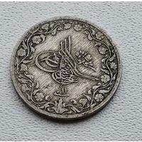 Египет 5/10 кирша, 1876 цифра 11  3-15-30