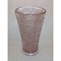Салфетница Неман розовое стекло