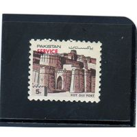 Пакистан. Mi:PK 617. Кот Диджи . Серия: Крепости Пакистана. 1984.