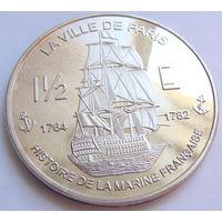 Сент Мартин 1,5 евро 2004 г