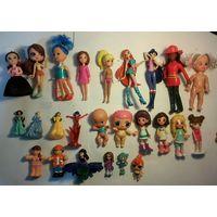 Мини-куклы, фигурки,25 шт, С РУБЛЯ!!!
