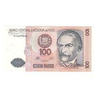 Перу 100 интис 1987 года. Состояние UNC!