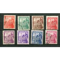 Испания - 1948/1949 - Генерал Франко - [Mi. 960-967] - полная серия - 8 марок. Гашеные.  (Лот 64o)