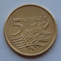 Польша 5 грошей. 2003