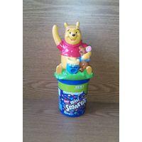 Фигурка-диспенсер Винни Пух (Winnie the Pooh, Dispenser, дозатор для конфет, драже). Аналог фигурок M&Ms эмэмдэмс. Нестле Nestle
