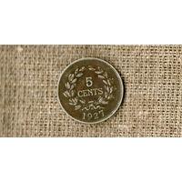 Саравак 5 центов 1927 // (ON)