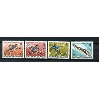 Соломоновы Острова - 1979 - Спорт - [Mi. 377-380] - полная серия - 4 марки. MNH.